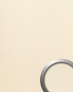 Wandpaneel Kunststoff Relief-Struktur WallFace 15785 TOUCH Design Wandverkleidung selbstklebend creme | 2, 60 qm