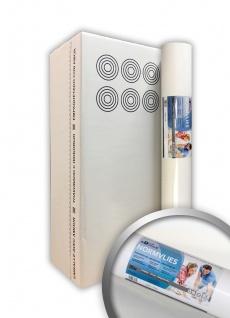 NORMVLIES 150 g Renoviervlies 6 Rollen 112, 5 m2 Glattvlies Malervlies glatte überstreichbare Vliestapete weiß