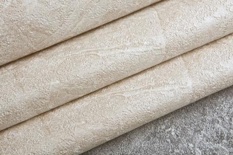 Spachtel Putz Tapete EDEM 9077-20 heißgeprägte Vliestapete geprägt im Shabby Chic Stil glänzend creme weiß hell-elfenbein 10, 65 m2 - Vorschau 2