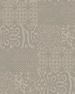 Barock Tapete Profhome VD219148-DI heißgeprägte Vliestapete geprägt im Barock-Stil glänzend beige taupe 5, 33 m2