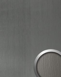 Wandverkleidung Paneel selbstklebend titan grau WallFace 15303 DECO TITAN Wandpaneel Struktur-Dekor Design | 2, 60 qm