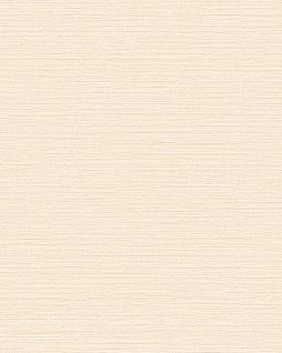 Ton-in-Ton Tapete Profhome BA220032-DI heißgeprägte Vliestapete geprägt unifarben dezent schimmernd creme 5, 33 m2