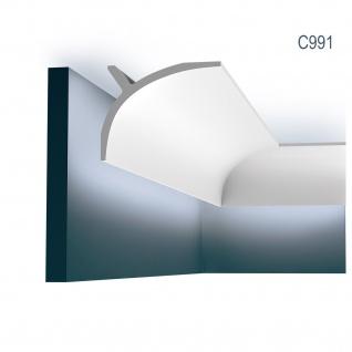 Zierleiste Orac Decor C991 Curtain Ulf Moritz LUXXUS Eckleiste indirekte Beleuchtung Profilleiste Stuckleiste 2 Meter