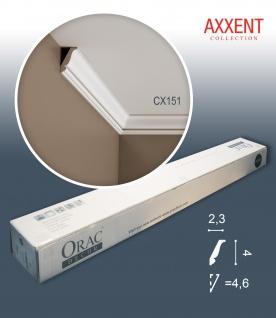 Orac Decor CX151 AXXENT 1 Karton SET mit 10 Stuckleisten Eckleisten | 20 m