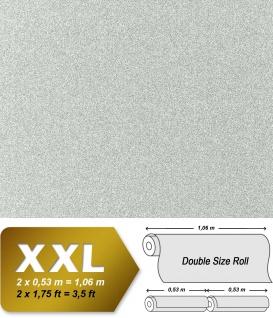 Stein Vliestapete EDEM 998-37 XXL Granitputz Struktur Naturstein Mosaikputz gesprenkelt steingrau weiß 10, 65 qm