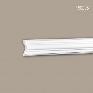 Eckleiste PROFHOME 150295 Zierleiste Stuckleiste Neo-Klassizismus-Stil weiß 2 m