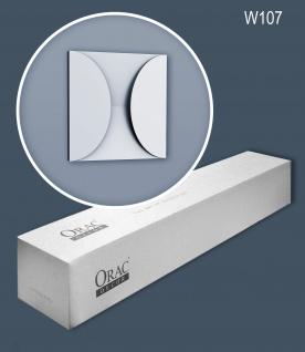 Orac Decor W107-box 1 Karton SET mit 5 Wandpaneelen Zierlementen 0, 55 m2