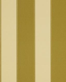 Streifen Tapete EDEM 771-31 Vinyl Tapete Luxus Hochwertig Barock olive-grün gelbgrün bronze