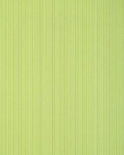 Streifen-Tapete EDEM 557-11 Hochwertige Tapete strukturiert in Textiloptik matt gelb-grün weiß-grün 5, 33 m2