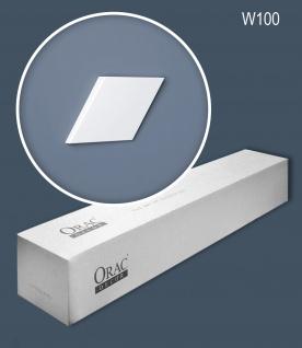 Orac Decor W100 MODERN 1 Karton SET mit 18 Wandpaneelen Zierelementen | 0, 7 m2