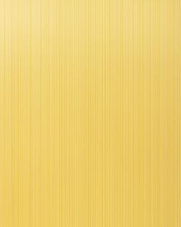 Uni-Tapete EDEM 598-21 Geprägte Tapete strukturiert mit Streifen matt safran-gelb ginster-gelb 5, 33 m2