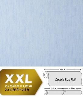 Uni Vliestapete EDEM 908-03 Tapete in XXL geprägte Struktur Textiloptik hell-blau hell-lila 10, 65 qm