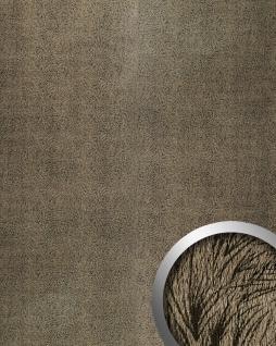 Wandpaneel Leder Wandplatte WallFace 14325 PELZ MARABU Pelzlook selbstklebend braun 2, 60 qm