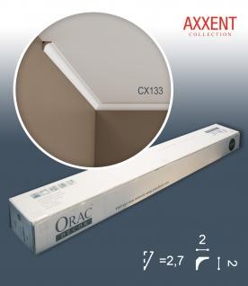 Orac Decor CX133 AXXENT 1 Karton SET mit 50 Eckleisten Stuckleisten | 100 m