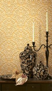 Barock Tapete XXL Vliestapete EDEM 935-21 Opulentes florales Barockmuster Luxus Barocktapete beige hellbraun 10, 65 m2 - Vorschau 5