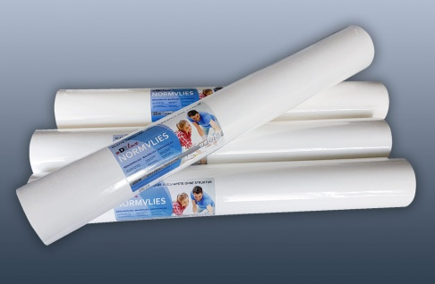 NORMVLIES 150 g Renoviervlies 6 Rollen 112, 5 m2 Glattvlies Malervlies glatte überstreichbare Vliestapete weiß - Vorschau 4