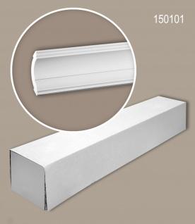 Profhome 150101 1 Karton SET mit 20 Eckleisten Zierleisten Stuckleisten   40 m