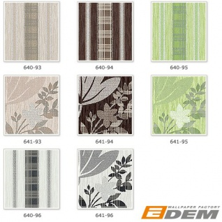 Streifen Tapete Vliestapete EDEM 640-94 Textilstruktur mit Karomuster XXL Tapete braun bronze silber 10, 65 qm - Vorschau 4