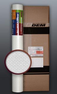 EDEM 80390BR60 1 Kart 5 Rollen überstreichbare Vliestapete dekorative Struktur maler weiß 132 qm