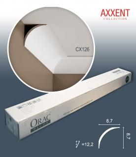 Orac Decor CX126 AXXENT 1 Karton SET mit 28 Eckleisten Stuckleisten | 56 m