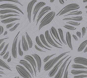 Grafik Tapete Profhome 367035-GU Vliestapete leicht strukturiert mit grafischem Muster matt schwarz grau silber 5, 33 m2