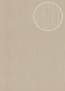 Edle Uni Tapete Atlas COL-497-3 Vliestapete glatt mit Streifen schimmernd grau grau-beige 5, 33 m2