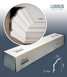 Orac Decor C340 LUXXUS 1 Karton SET mit 12 Stuckleisten | 24 m