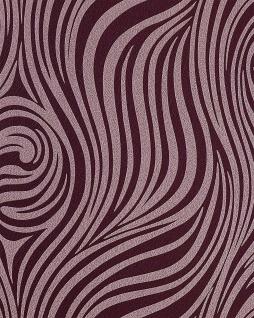 Grafik Tapete EDEM 1016-14 Zebra-Streifen Tapete gestreiftes Struktur-Muster hochwaschbar violett hell-lila