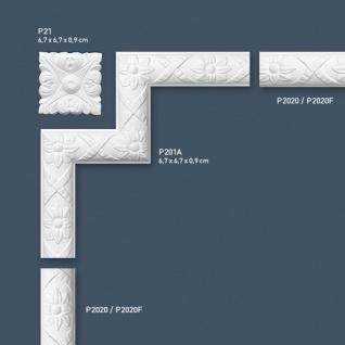 Stuck Wandleiste Orac Decor P2020 LUXXUS Friesleiste Stuck Leiste Wand Dekor Profil Zierleiste Wand mit Relief | 2 Meter - Vorschau 3
