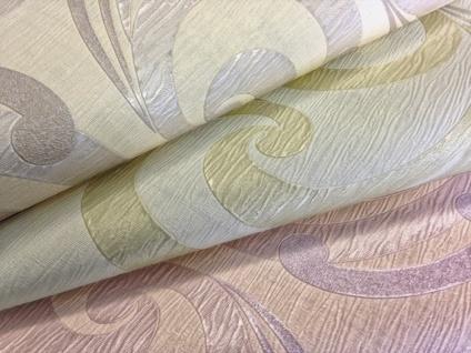 Grafik Vliestapete EDEM 915-35 XXL Designer Präge-Tapete geschwungene abstraktes Muster rot bronze gold 10, 65 qm - Vorschau 3