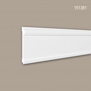 Wand- und Friesleiste PROFHOME 151381 Stuckleiste Zierleiste Friesleiste Neo-Klassizismus-Stil weiß 2 m