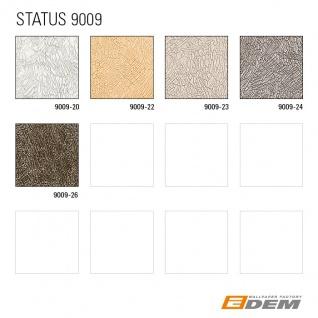 Uni Tapete EDEM 9009-24 Vliestapete geprägt mit abstraktem Muster glänzend grau silber 10, 65 m2 - Vorschau 4