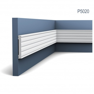 Wandleiste Orac Decor P5020 LUXXUS Zierleiste Fries Leiste Stuck Dekor Profil Zierleiste Wand 2 Meter