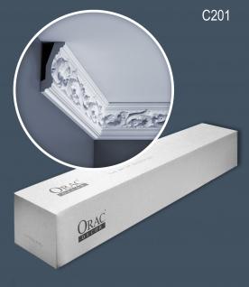 Orac Decor C201 LUXXUS 1 Karton SET mit 10 Eckleisten Stuckleisten | 20 m