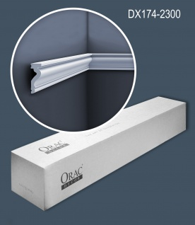 Orac Decor DX174-2300-box-10 1 Karton SET mit 10 Türumrandungen Sockelleisten 23 m