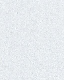 Uni Tapete EDEM 85047BR20 Tapete mit Struktur glitzernd weiß perl-weiß silber 5, 33 m2