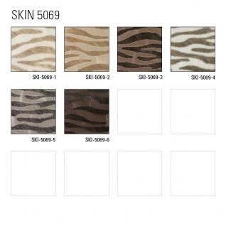 Tiermotiv Tapete Atlas SKI-5069-2 Vliestapete geprägt mit Zebramuster schimmernd beige grau-beige reh-braun blass-braun 7, 035 m2 - Vorschau 4