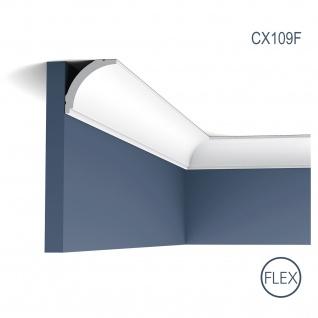 Zierleiste Profilleiste Orac Decor CX109F AXXENT flexible Stuck Profil Eckleiste Wand Leiste Decken Leiste | 2 Meter