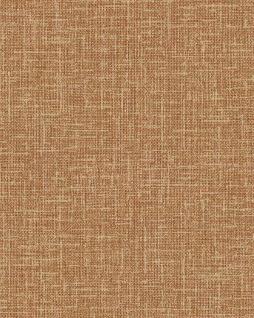 Textiloptik Tapete Profhome DE120114-DI heißgeprägte Vliestapete geprägt in Textiloptik matt orange 5, 33 m2
