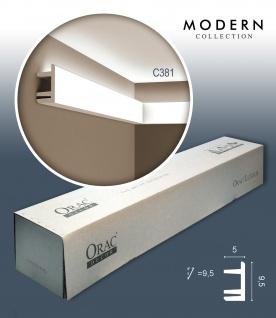 Orac Decor C381 MODERN 1 Karton SET mit 18 Eckleisten Zierleisten | 36 m