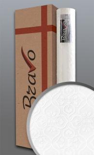 Barock Tapete EDEM 83001BR60 Vliestapete zum Überstreichen strukturiert mit Ornamenten matt weiß 1 Karton 4 Rollen 106 m2