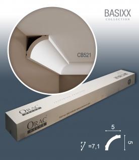 Orac Decor CB521 BASIXX 1 Karton SET mit 36 Stuckleisten | 72 m