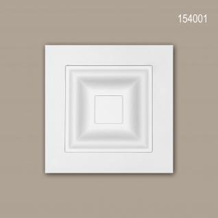 Zierelement PROFHOME 154001 Türumrandung Modernes Design weiß