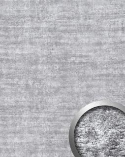 Wandpaneel Platte Beton Optik WallFace 16429 URBAN Design Kunststoff Deko selbstklebende Tapete hell-grau | 2, 60 qm