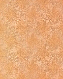 Grafik Tapete EDEM 064-21 Retro-Muster grafische Relief-Oberfläche 3D Grid-Optik Orange pastell silber