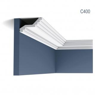 Stuck Zierleiste Orac Decor C400 LUXXUS leiste Eckleiste Dekorleiste Decken gesims 2 Meter