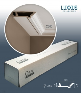 Orac Decor C305 LUXXUS 1 Karton SET mit 10 Stuckleisten | 20 m