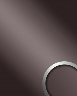 Wandpaneel Spiegel Dekor Glanz-Optik WallFace 10125 DECO ANTHRACITE Wandverkleidung selbstklebend anthrazit | 2, 60 qm