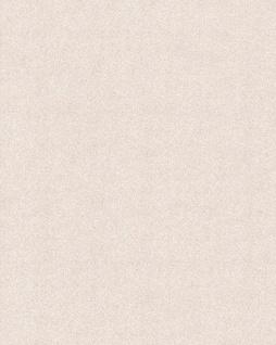 Uni Tapete EDEM 85047BR23 Tapete mit Struktur glitzernd creme hell-elfenbein silber 5, 33 m2