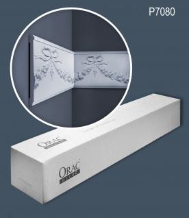 Orac Decor P7080 LUXXUS 1 Karton SET mit 8 Wandleisten Zierleisten | 16 m